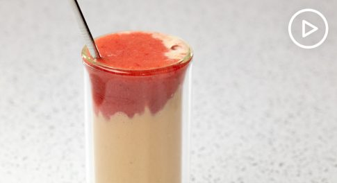 Lava Flow Smoothie Recipe