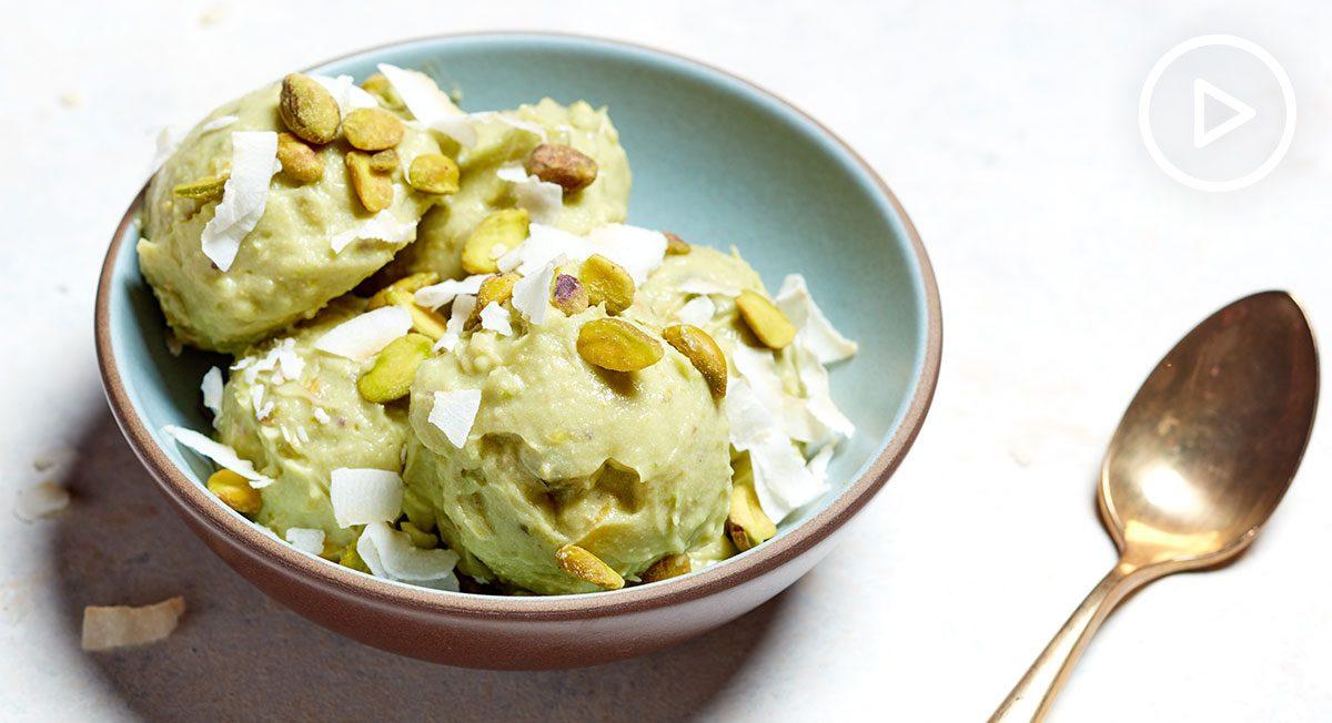 Avocado N'Ice Cream 2 Ways
