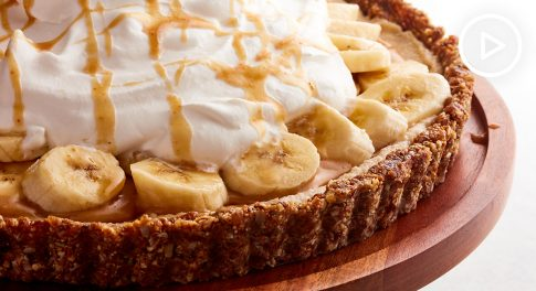 Paleo Banoffee Tart Recipe