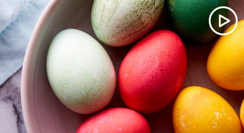 Naturally Dyed Easter Eggs Recipe