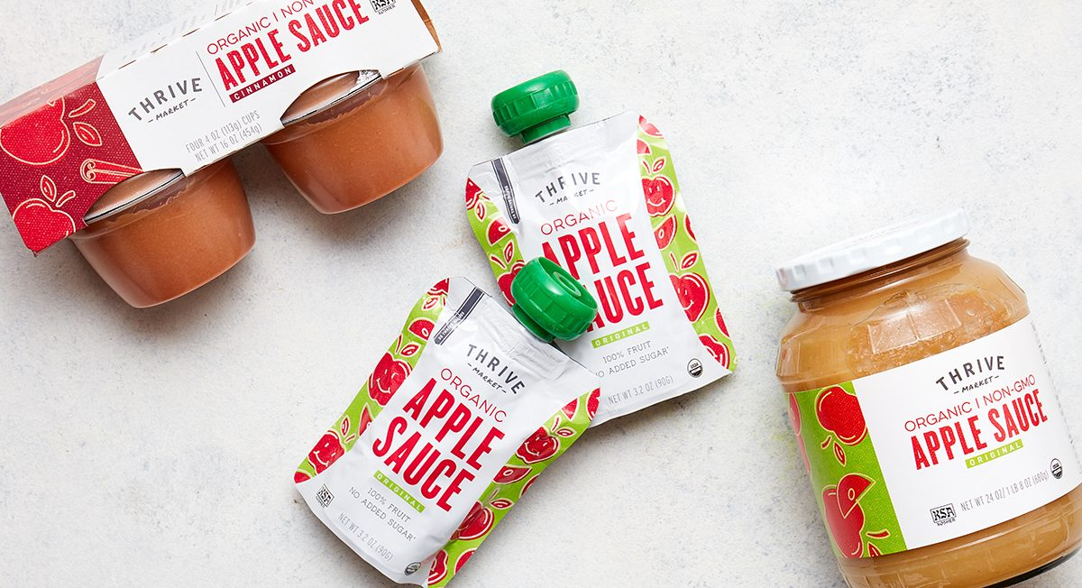 The Sustainable Story Behind Thrive Market Organic Apple Sauce