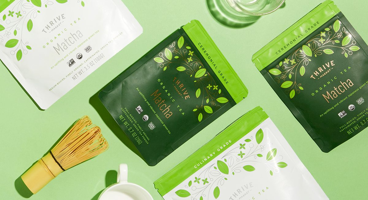 From Japan With Love: Thrive Market Matcha Tea