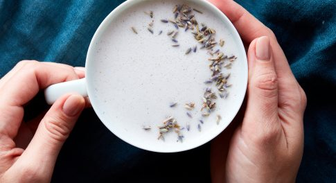 Lavender & Vanilla Moon Milk With CBD Oil Recipe