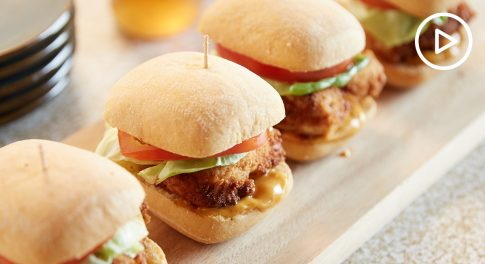 Gluten-Free Breaded Chicken Sandwich Recipe