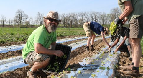 Meet 2 Veterans Growing New Careers In Organic Farming