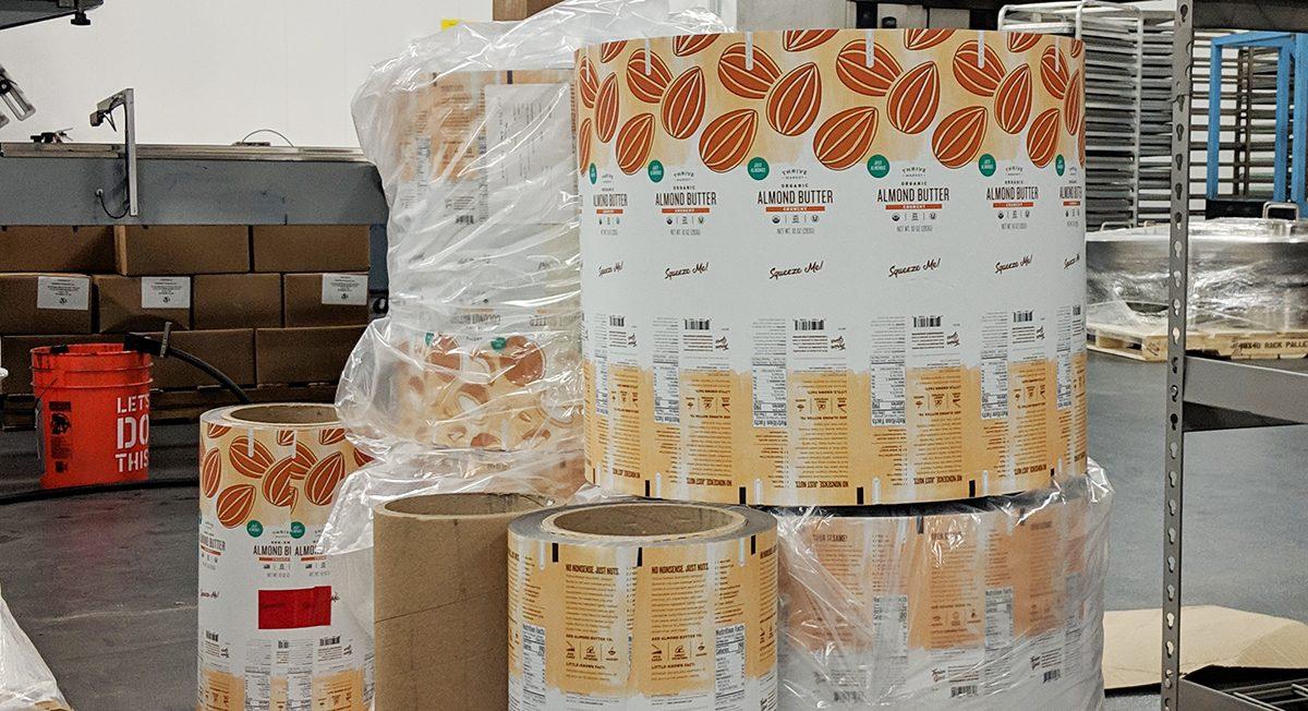 Thrive Market nut butter packaging