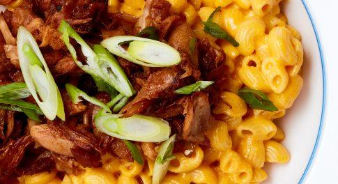 Vegan BBQ Jackfruit Mac & Cheez Recipe