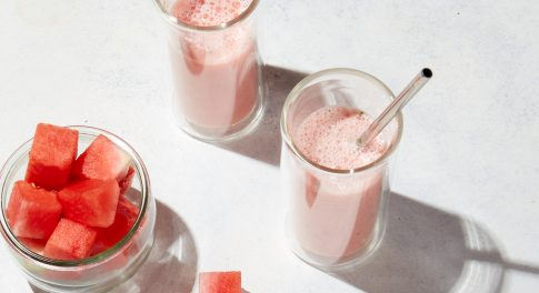 Watermelon Mint CBD Smoothie Recipe