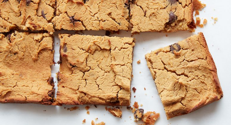 Peanut Butter Blondies Recipe From Instant Loss
