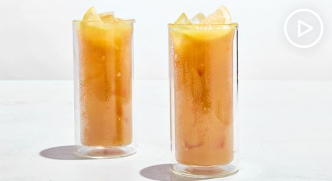 Collagen Turmeric Iced Tea