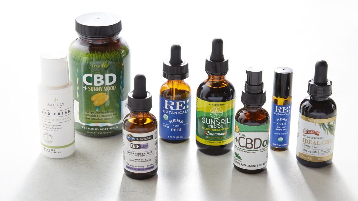 Update On Our Hemp & CBD Products