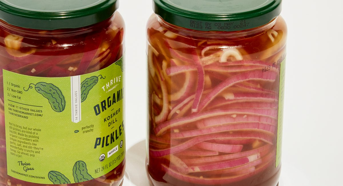 3 Ways to Pickle With Chef Megan Mitchell - Thrive Market