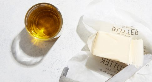 Butter vs. Olive Oil