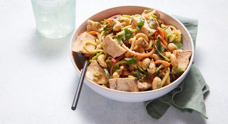 Whole30-Compliant Chicken Pad Thai Recipe