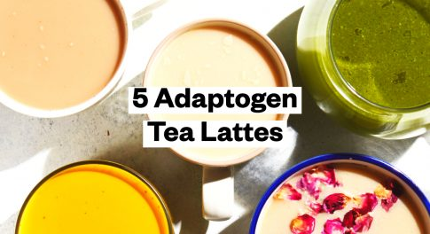 Curl Up With 5 Adaptogenic Tea Lattes