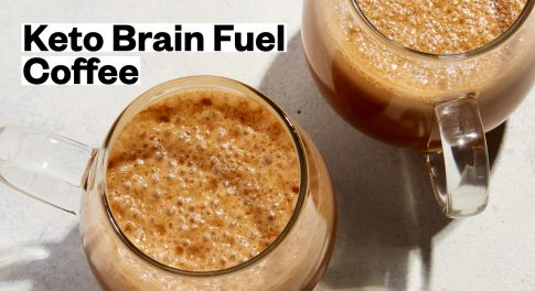 Brain Fuel Keto Coffee Recipe
