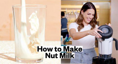 2 Easy DIY Nut Milk Recipes