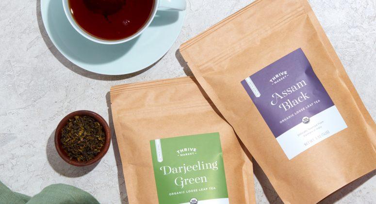Steeped in Goodness: Meet Thrive Market Organic Loose Leaf Teas