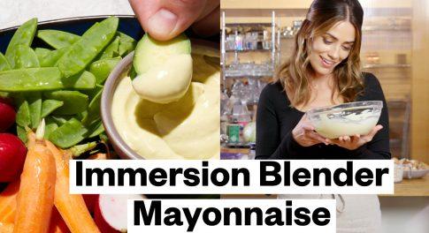 How to Make Homemade Mayo, Aioli, and Hollandaise