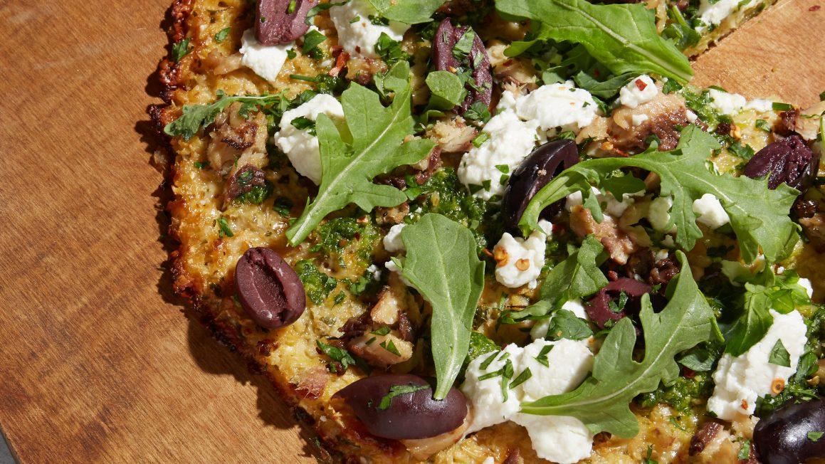 keto cauliflower pizza