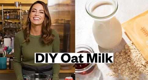 Learn How to Make Easy, Homemade Oat Milk