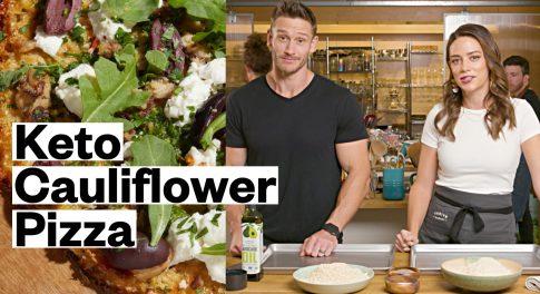 Make the Best Keto Cauliflower Pizza With Thomas DeLauer