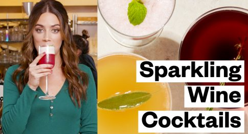 Elevate Your Holiday Party With 3 Sparkling Wine Cocktails