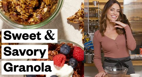 Granola 2 Ways—Sweet and Savory