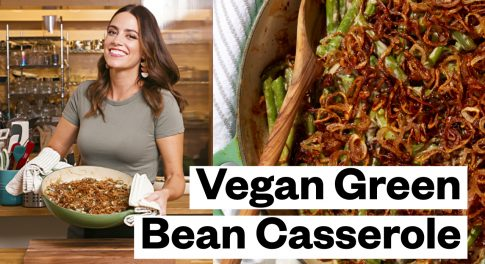 This Thanksgiving Green Bean Casserole Works for Vegan, Paleo & Whole30®, Gluten-Free & Keto Diets