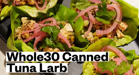 Whole30® Canned Tuna Larb Recipe