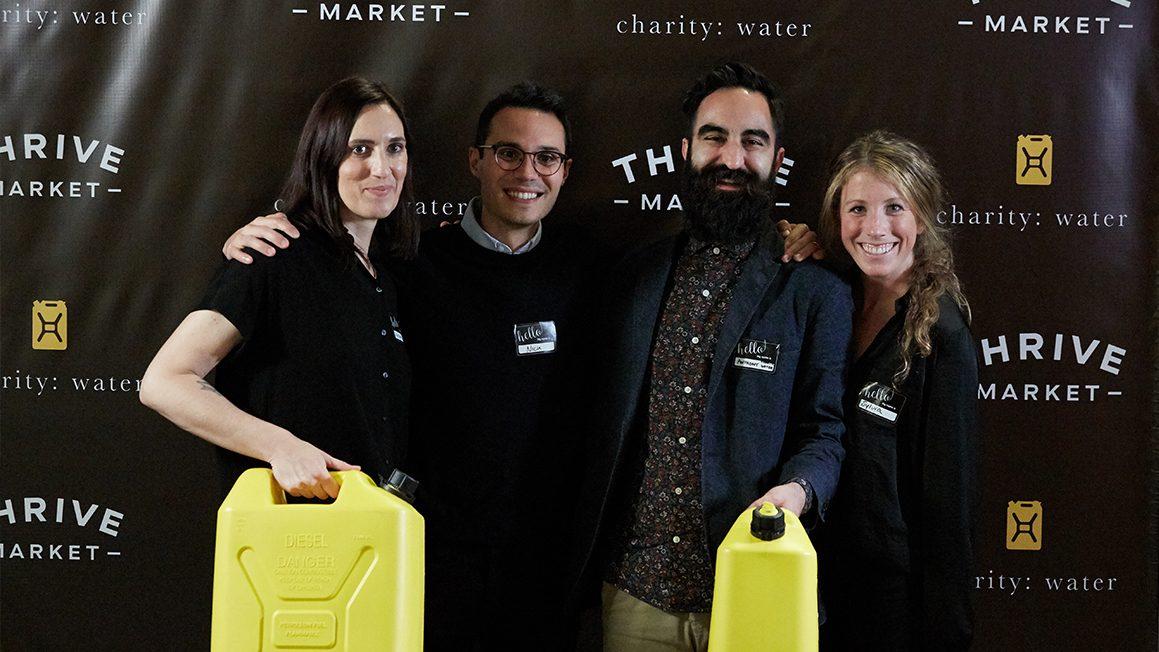 charity water partnership