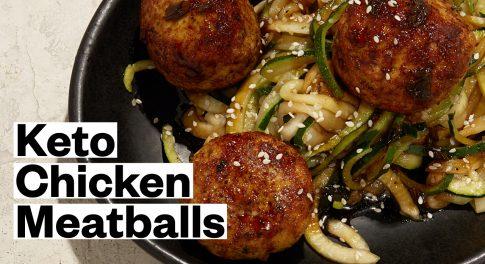 Keto Tsukune Chicken Meatballs Recipe