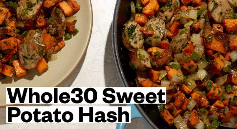Whole30® Sweet Potato Hash With Chicken Sausage Recipe