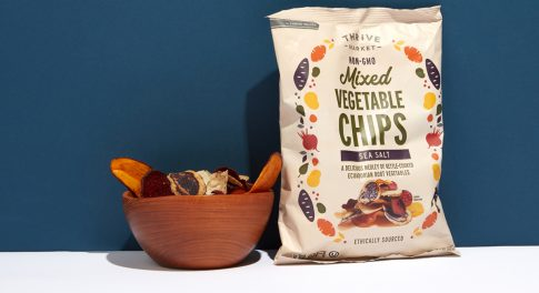 Rooted in Goodness: Discover Thrive Market Mixed Vegetable Chips
