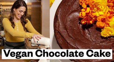This Stunning Chocolate Cake Is Vegan and Gluten-Free