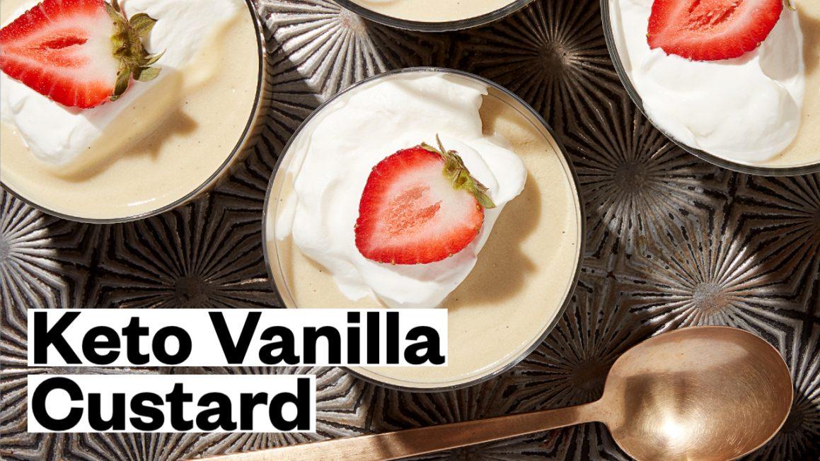 Keto Vanilla Pudding Recipe