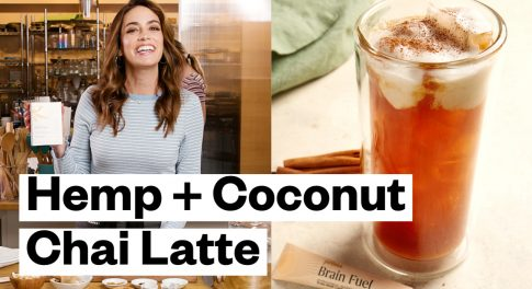 Adaptogens Boost This Dairy-Free and Paleo Coconut Chai Latte