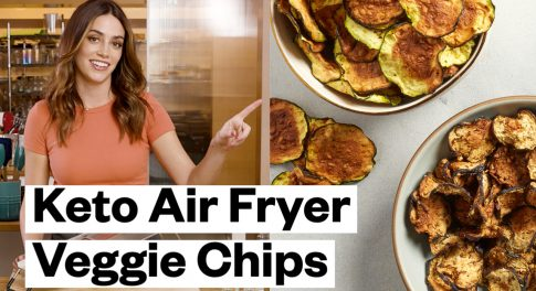 3 Recipes for Keto-Friendly Veggie Chips (in the Air Fryer)