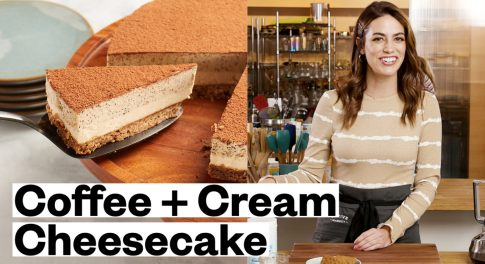 Gluten-Free Coffee and Cream Cheesecake Recipe
