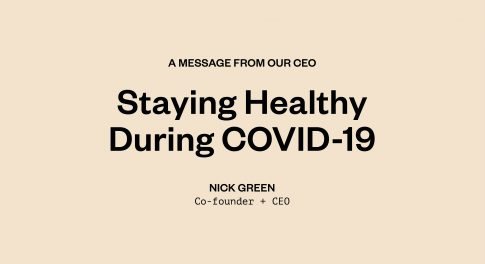 A Letter From Our CEO on COVID-19