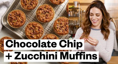 Paleo Snack Solve: Gluten-Free Zucchini Chocolate Chip Muffins