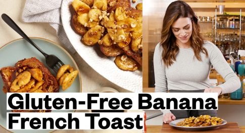 Brunch Upgrade: Gluten-Free French Toast With Bananas