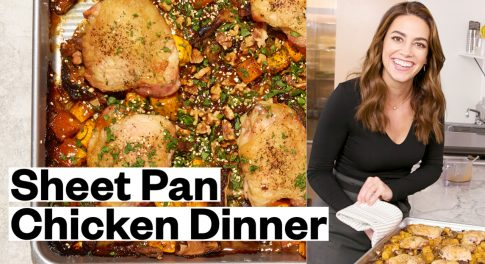 Hate Doing Dishes? Learn How to Make Sheet Pan Chicken for Dinner