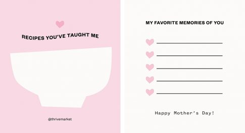 The Best Virtual Gifts + Activities to Celebrate Mother's Day