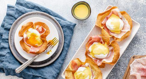 5-Ingredient Keto Eggs Benedict