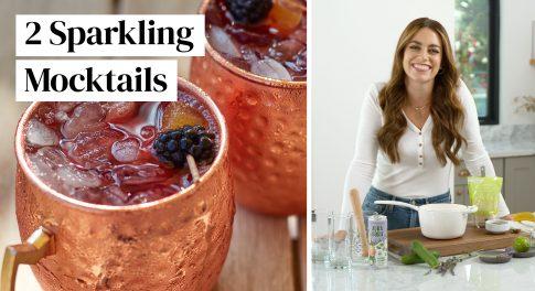 Video: 2 Sparkling Superfood Mocktails