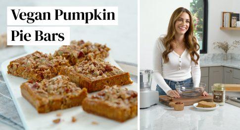Video: Vegan & Gluten-Free Pumpkin Pie Bars