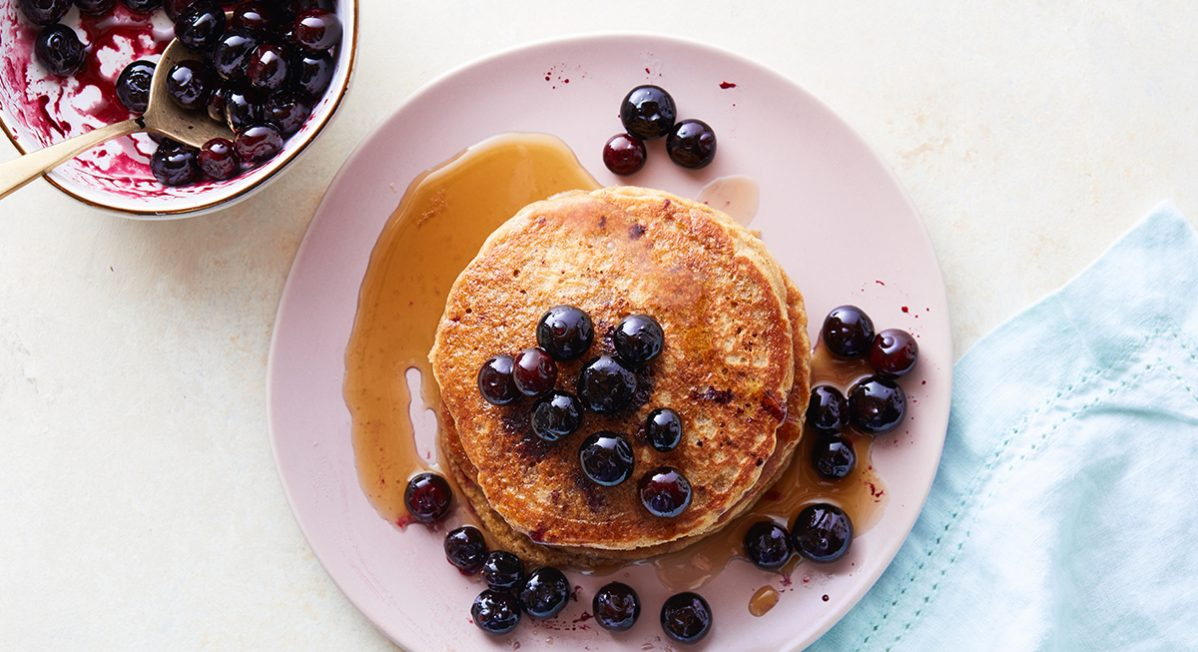 sprouted foods quinoa pancakes