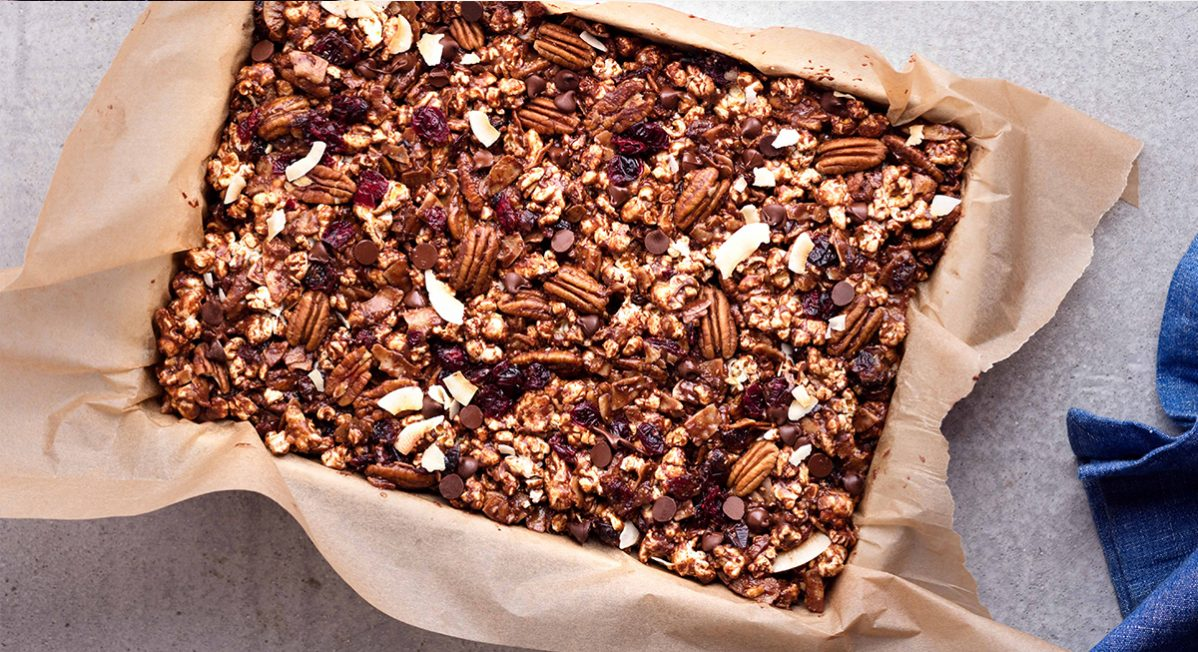 sprouted popcorn bars