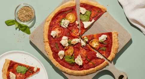 A Paleo Pizza Recipe with a Healthy Shortcut